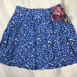 Kimchi Blue Floral Skirt Sz 4